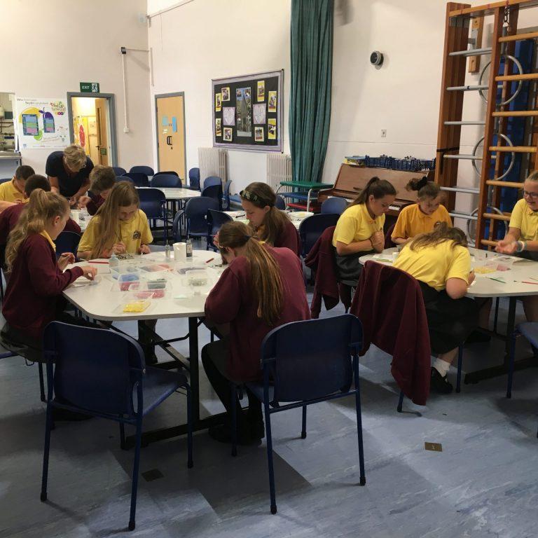 School Workshops –Education In Fused Glass