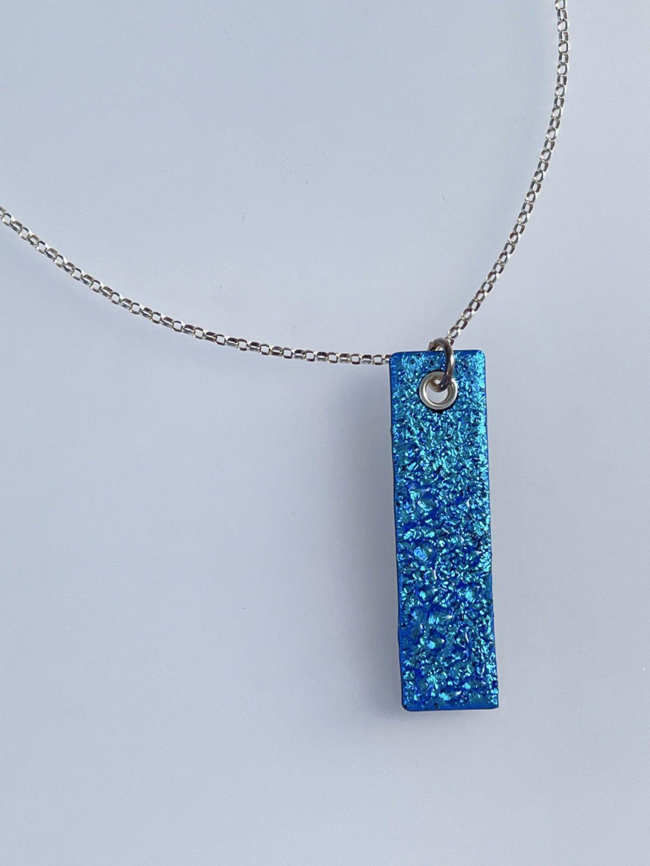 Gift shop – Aquamarine pendant front