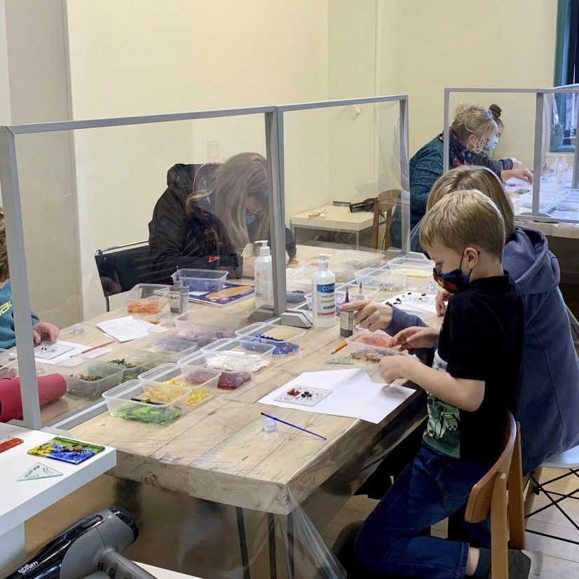 Workshops groups welcome in the studio